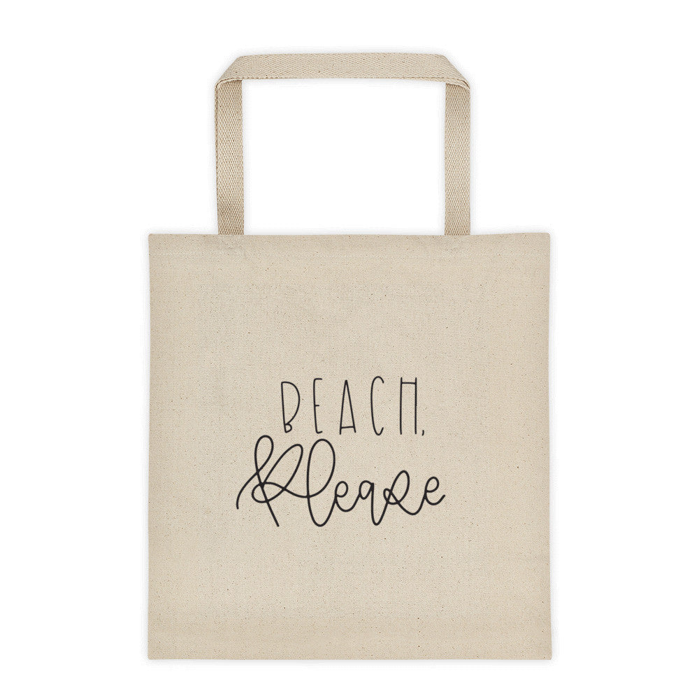 Beach, Please Tote bag - Chalkfulloflove