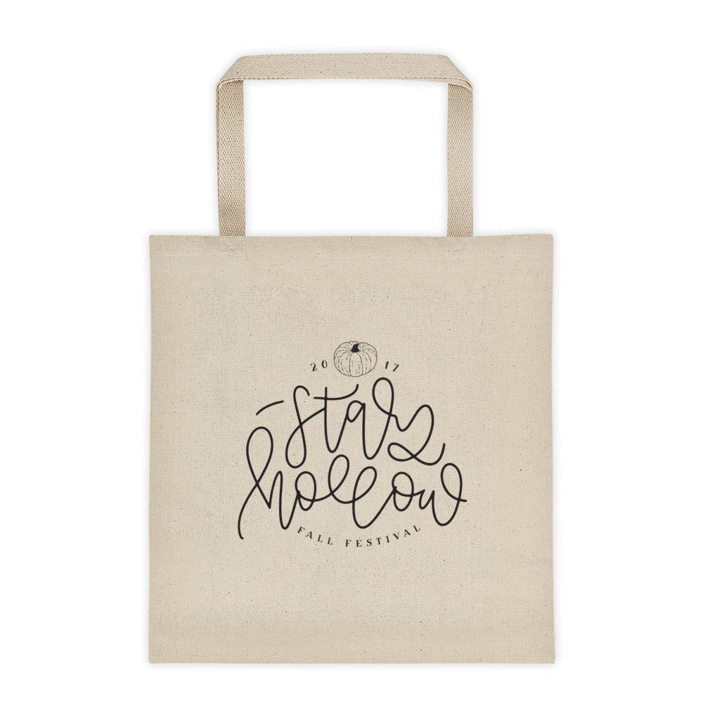 Stars Hollow Tote bag - 2017 Version - Chalkfulloflove
