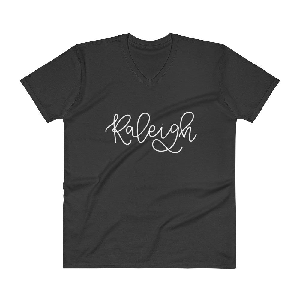 Raleigh Unisex V-Neck City Tee - Chalkfulloflove