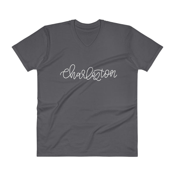Charleston V-Neck Unisex City Tee