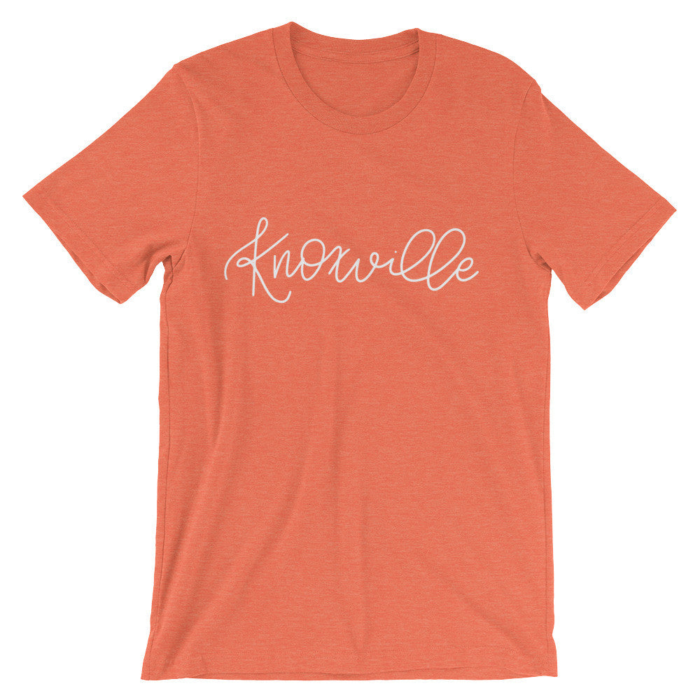 Knoxville Unisex City Tee - Chalkfulloflove