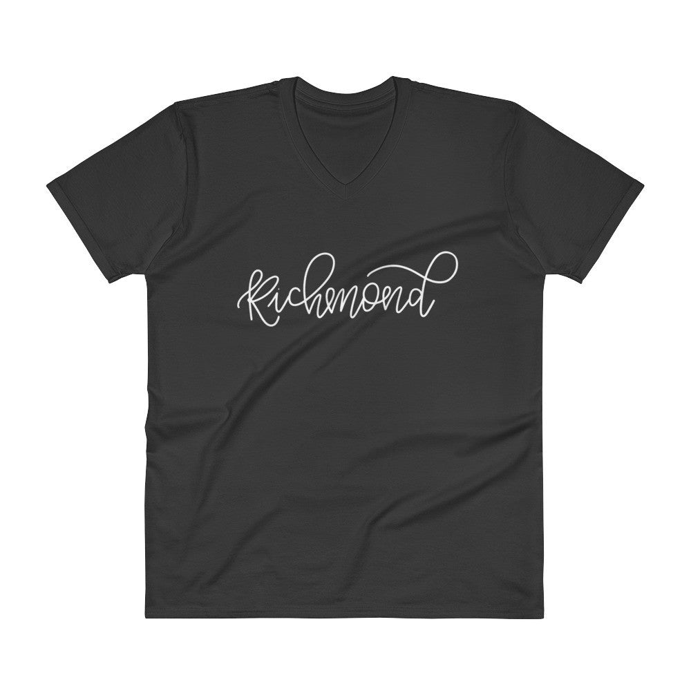 Richmond Unisex V-Neck City Tee