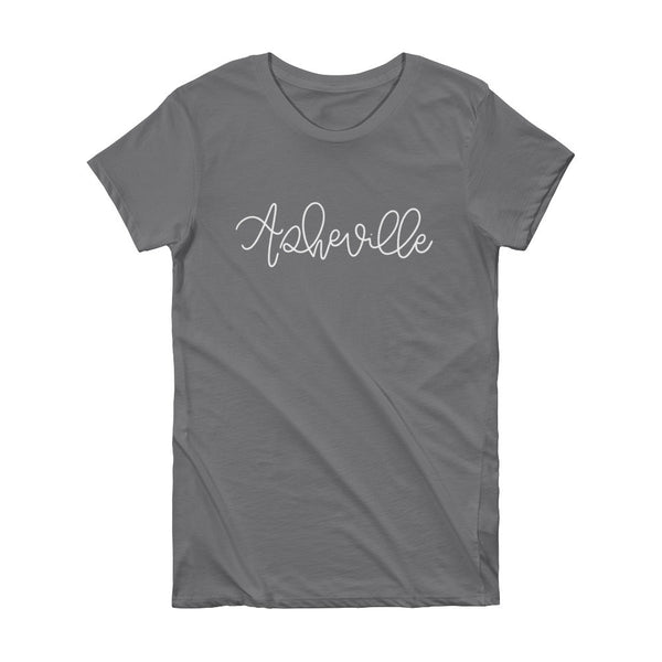 Asheville Women's City Tee