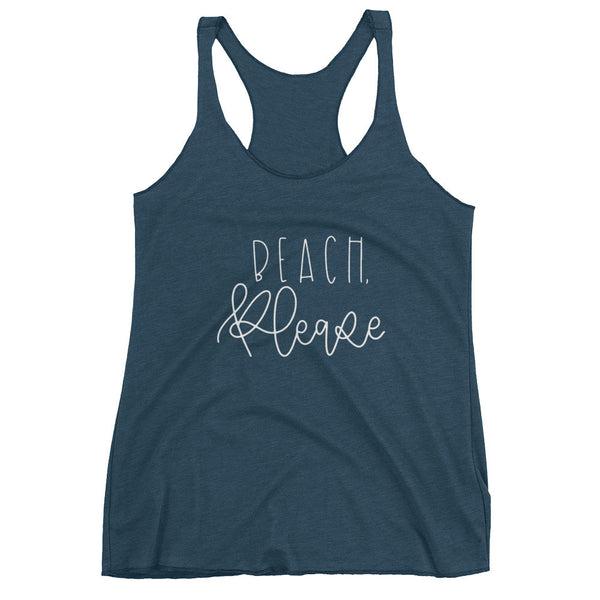 Beach, Please Women's tank top - Chalkfulloflove