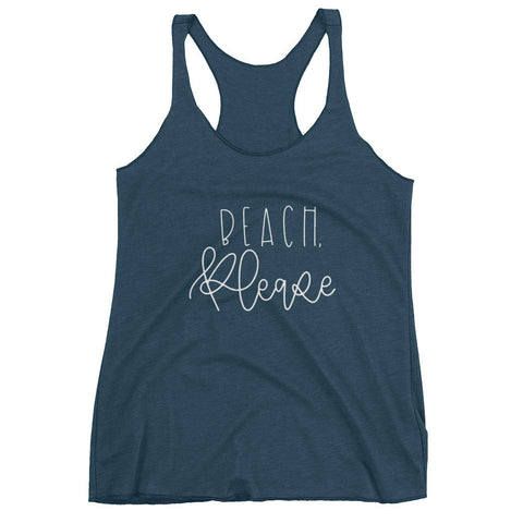 Beach, Please Women's tank top