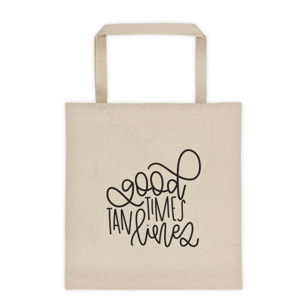 Good Times, Tan Lines Tote bag - Chalkfulloflove