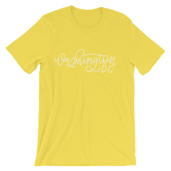 Washington D.C. Unisex City Tee