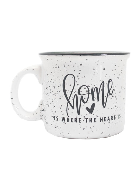 IMPERFECT Home Is Where The Heart Is Camper Mug - Chalkfulloflove