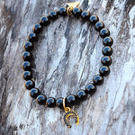 Horseshoe - Black Agate