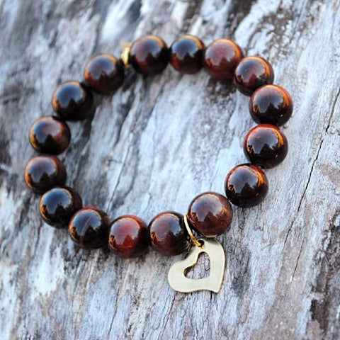 Heart - Tiger Eye