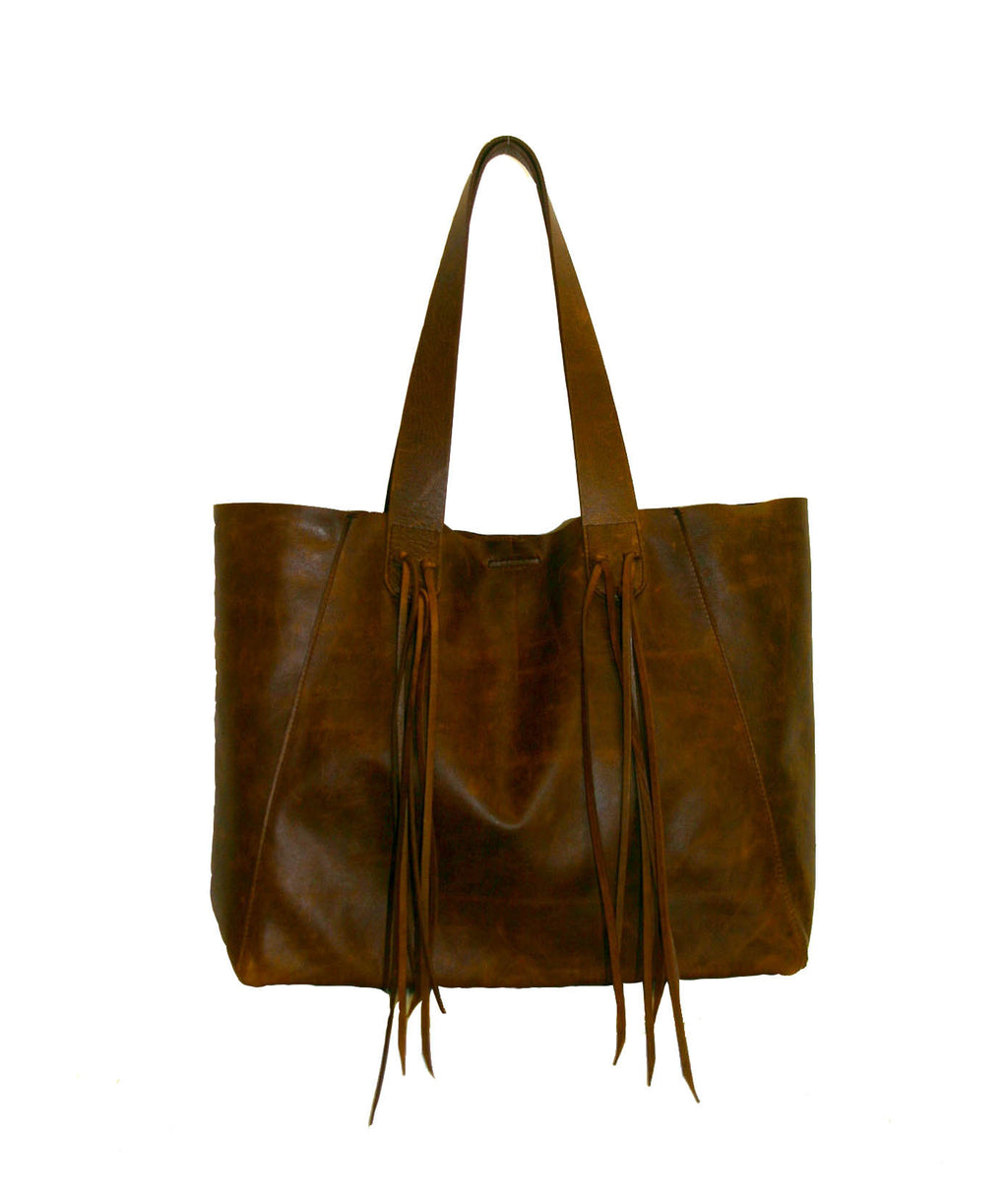 Cognac Italian Leather