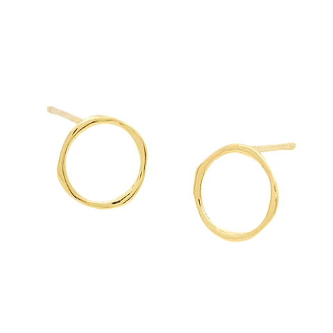 Open Gold Hoops