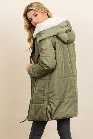Sherpa Down Jacket