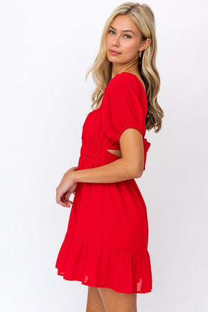 Ooh la la Red Dress