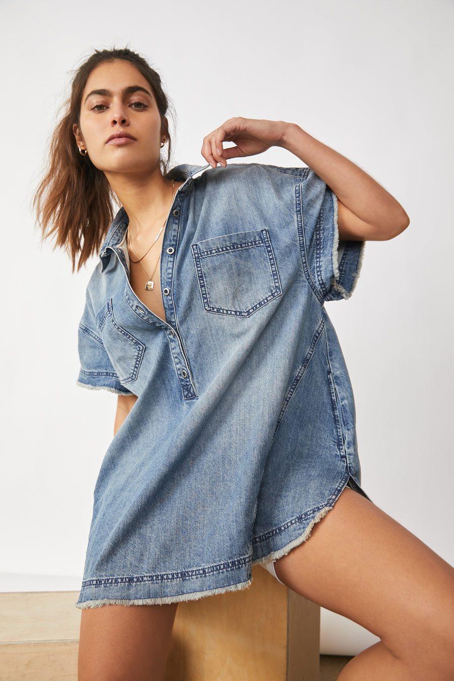 Elliot Denim Tunic