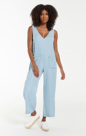 Indigo Relaxed Jumpsuit