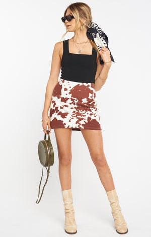 Roxanne Mini Skirt