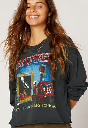 Rush Moving Pictures Long Sleeve Top
