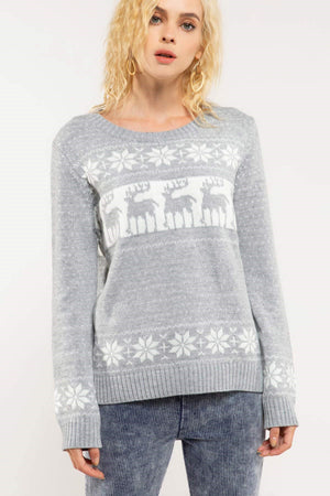 Snow Shade Sweater
