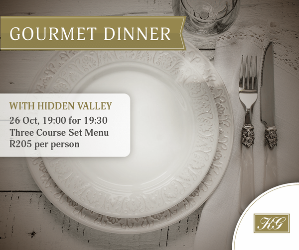 Hidden Valley Wines' Gourmet Dinner at Kelvin Grove