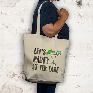 Lake tote bag - Party at the lake