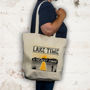 Lake tote bag - Lake Time