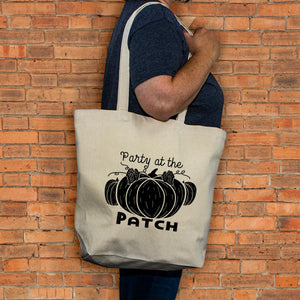 Autumn Pumpkin Tote - Party at the patch