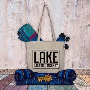Lake tote bag - Lake like you mean it