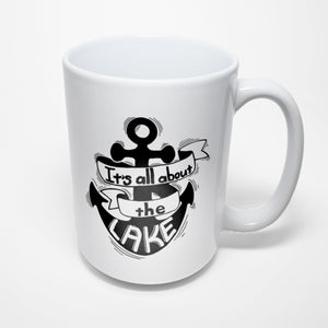Lake Sublimated Mug - Its All About The Lake