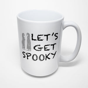 Funny Halloween Sublimated Mug - Let's Get Spooky