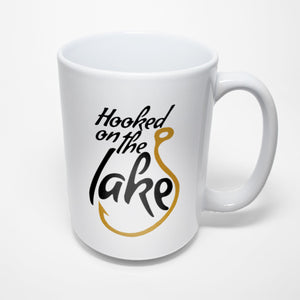 Lake Sublimated Mug - Hooked on the lake