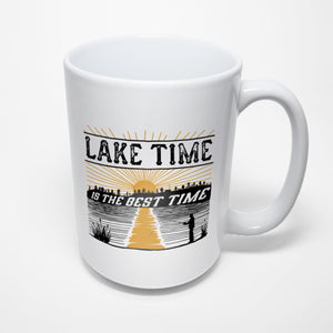 Lake Sublimated Mug - Lake Time