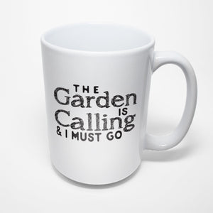 Gardening Sublimated Mug - The garden is calling and I must go