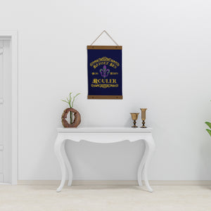 Mardi Gras Wall Hanging - Let the good times roll in french