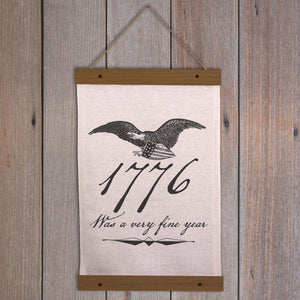Patriotic Wall Hanging - 1776 was a very fine year