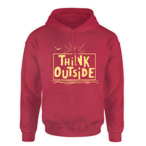 Outdoor Hooded Sweatshirt - THINK OUTSIDE...the box