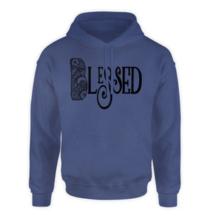 Zentangle hooded sweatshirt