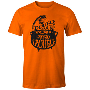 Halloween T-shirt - Double Double Boil & Trouble