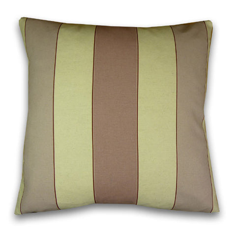 Kendal Stripe Large Cushion, Lilac/Lavender (50x50cm)