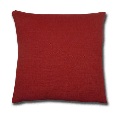Linara Cushion, Ruby Red (43x43cm)