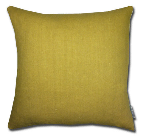 Gold Linen Cushion (50x50cm)