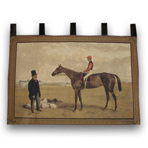 Racehorse Tapestry Wall Hanging