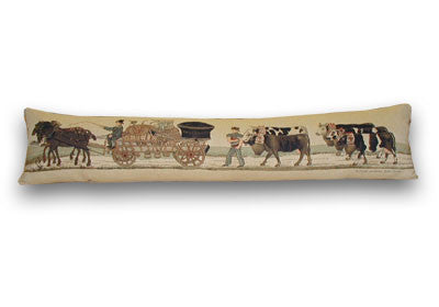 Hay Cart Tapestry Draught Excluder