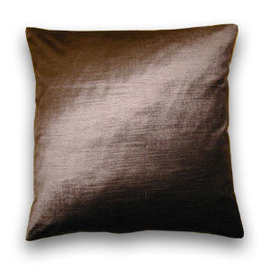 Rimini Velvet Cushion, Bark Brown (43x43cm) WAS £15