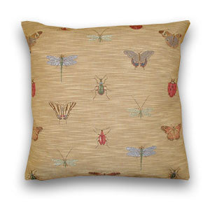 Dragonflies Tapestry Cushion (43x43cm)