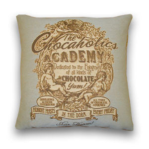 Chocaholics Tapestry Cushion (43x43cm)