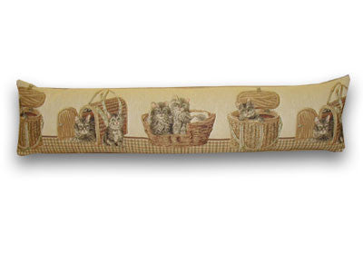 Kittens & Baskets Draught Excluder (90cm x 22cm)