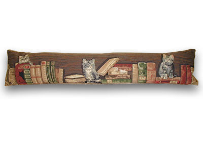 Cats & Books Draught Excluder (90x20cm) WAS £17, NOW £12