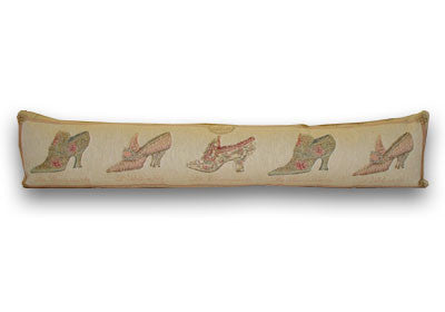 Georgian Slippers Draught Excluder (90x22cm)