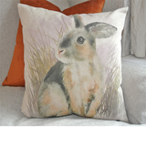 Field Rabbit Natural (43cm x 43cm)